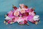 Схема вышивки букета из роз 518